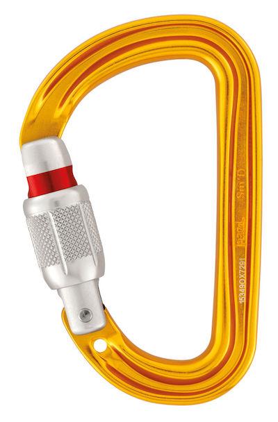 Petzl Süd Schraubkarabiner ideal für TiBloc und Micro Traxion